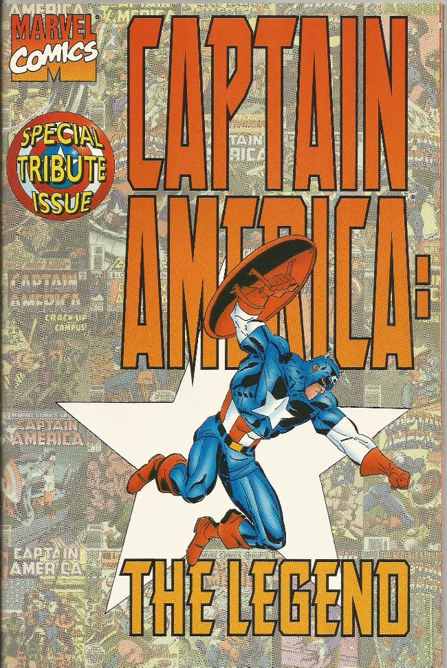 Couverture de Captain America (1968) -ES- The Legend