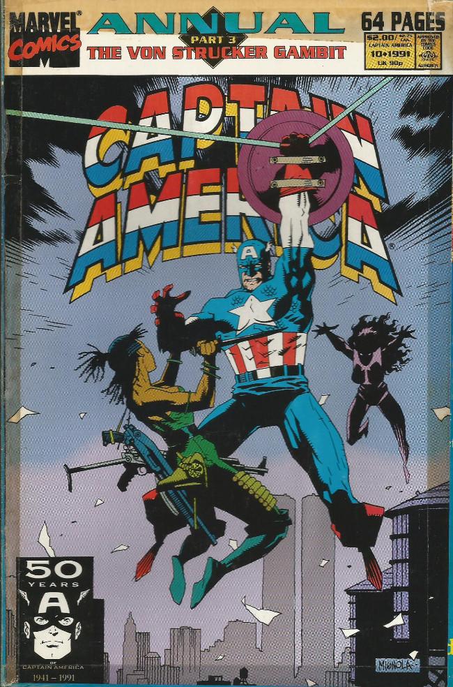 Couverture de Captain America (Marvel comics - 1968) -AN10- Call of duty