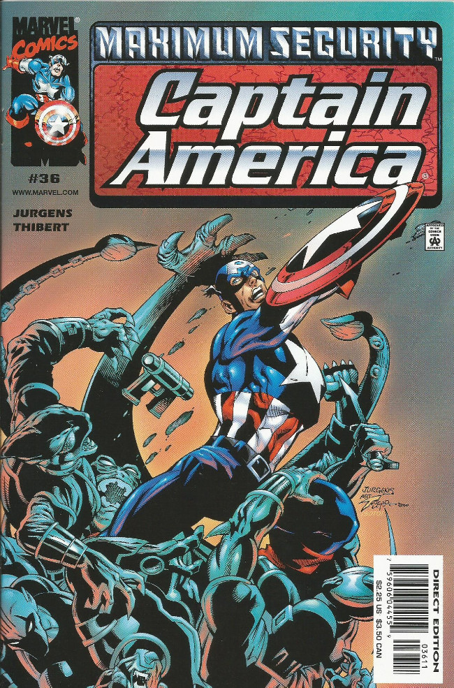 Couverture de Captain America (1998) -36- Maelstrom within