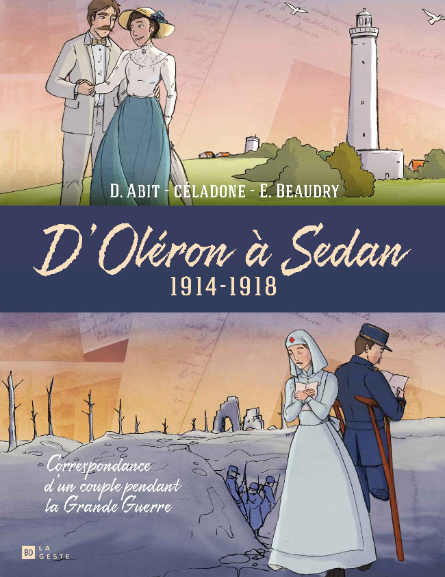 Couverture de D'Oléron à Sedan 1914-1918