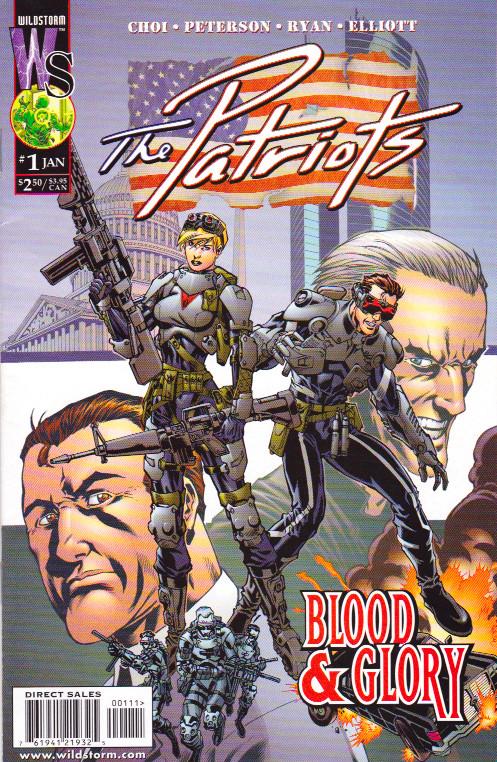 Couverture de Patriots (The) (2000) -1- Chapter One: Induction
