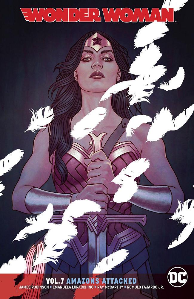 Couverture de Wonder Woman (2016) -INT07- Wonder Woman Volume 7: Amazons Attacked