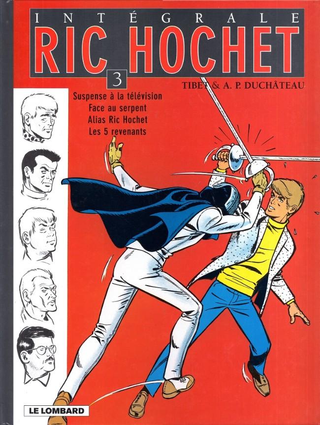 Couverture de Ric Hochet (Intégrale) -3- Tome 3