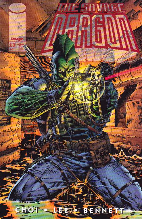 Couverture de Savage Dragon Vol.2 (The) (Image comics - 1993) -13- Issue 13