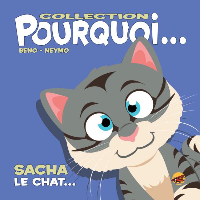 Couverture de Pourquoi... (Collection Pourquoi...) - Sacha, le chat