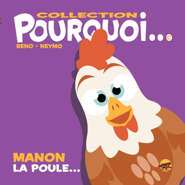 Couverture de Pourquoi... (Collection Pourquoi...) - Manon la Poule