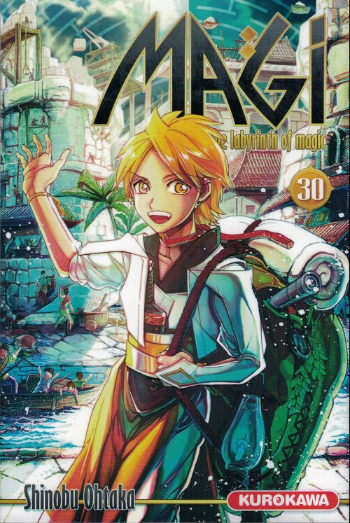 Couverture de Magi (The labyrinth of magic) -30- Tome 30