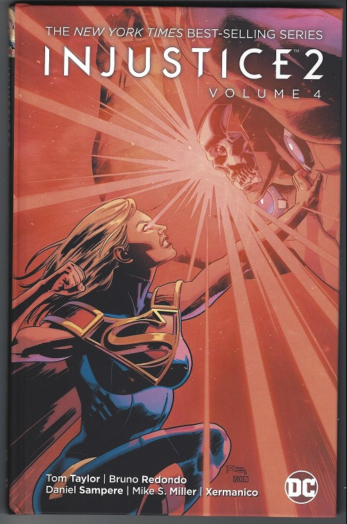 Couverture de Injustice 2 (2017) -INT04- Ride Into the Phantom Zone!