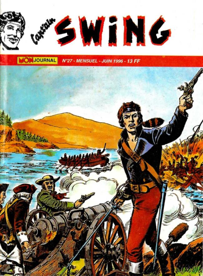 Couverture de Capt'ain Swing! (2e série - Mon Journal) -27- La brigade fantôme