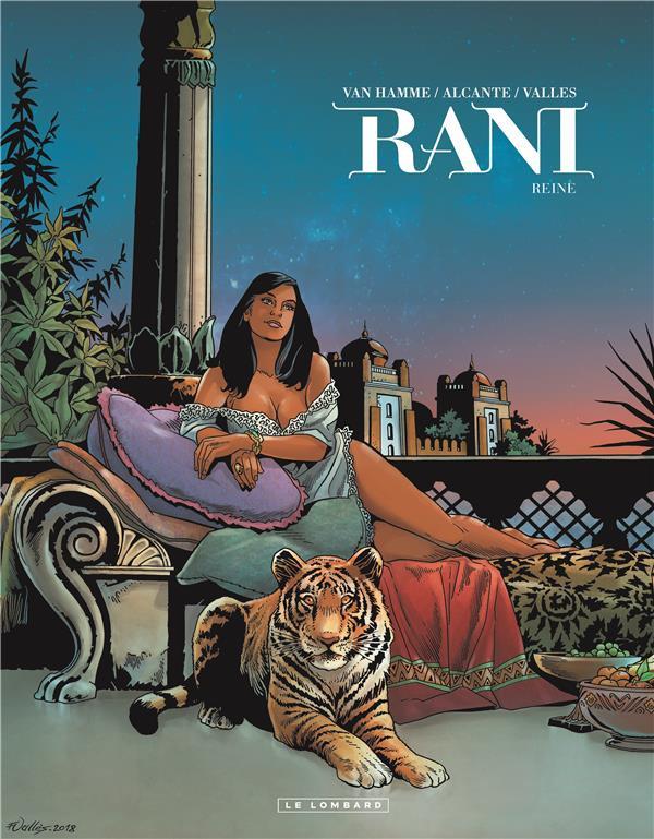 Couverture de Rani -7- Reine