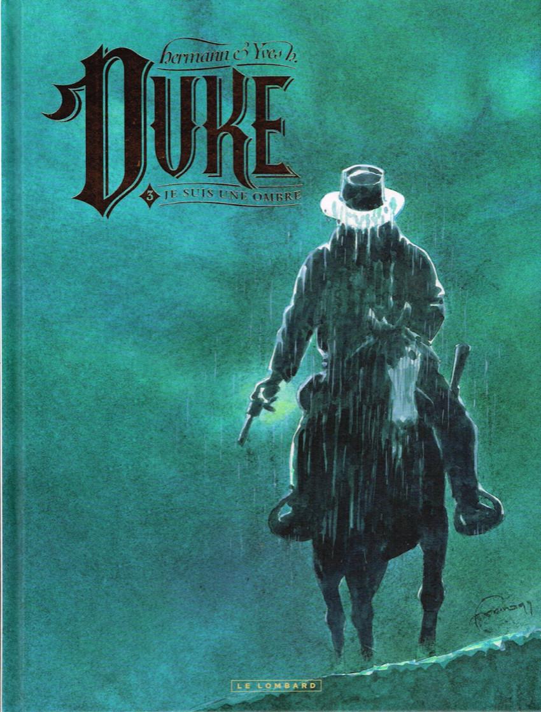 Couverture de Duke (Hermann) -3- Je suis une ombre
