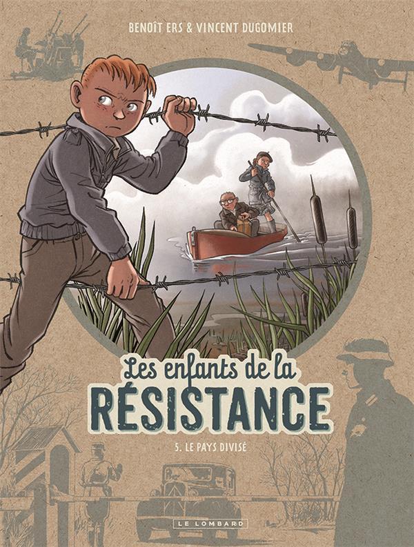 Couverture de Les enfants de la Résistance -5- Le pays divisé
