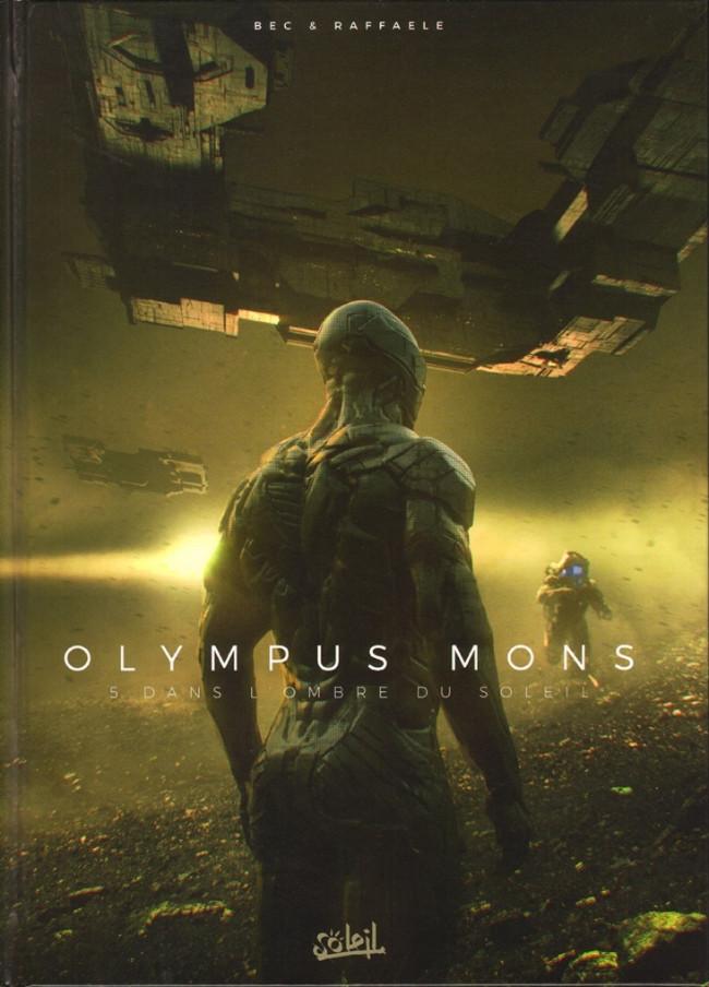 Couverture de Olympus Mons -5- Dans l'ombre du soleil