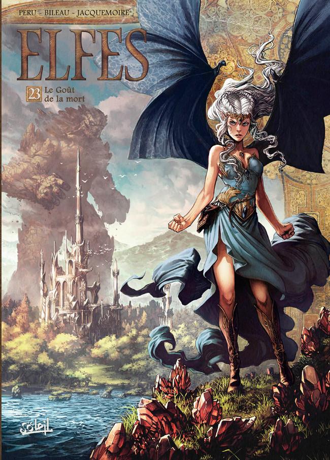 Couverture de Elfes -23- Le Goût de la mort