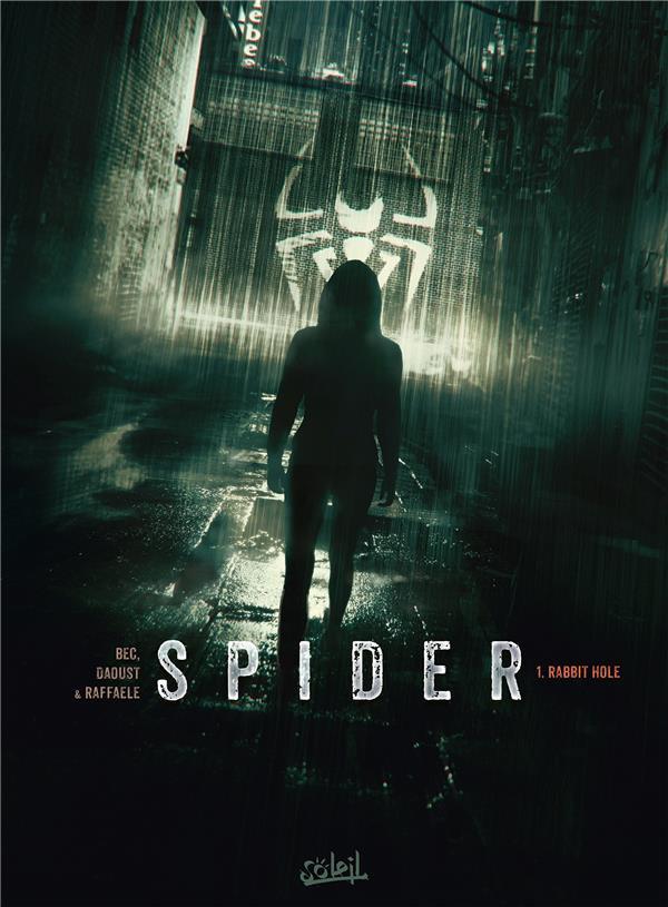 Couverture de Spider -1- Rabbit hole