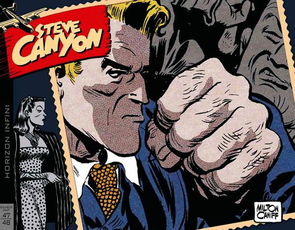 Couverture de Steve Canyon (Hachette) -INT01- Steve Canyon : 1947-1948