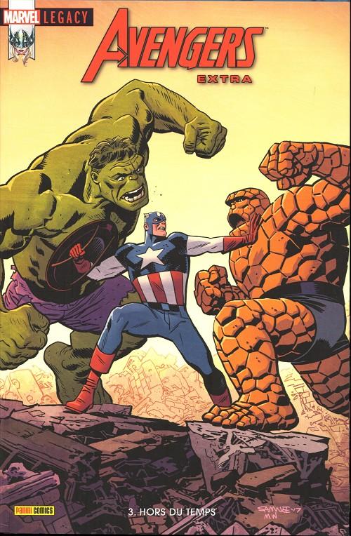 Couverture de Marvel Legacy - Avengers Extra (Marvel France - 2018) -3- Hors du temps