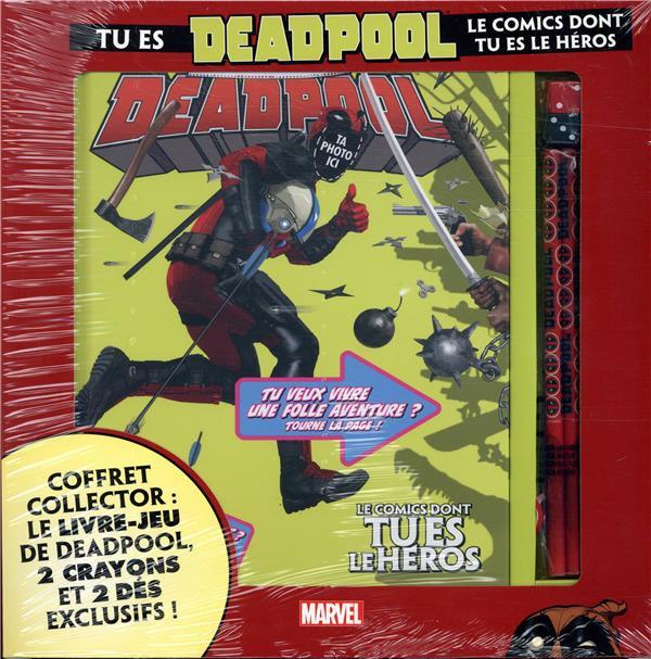 Couverture de Marvel (Para-BD) - Jeu: Tu es Deadpool