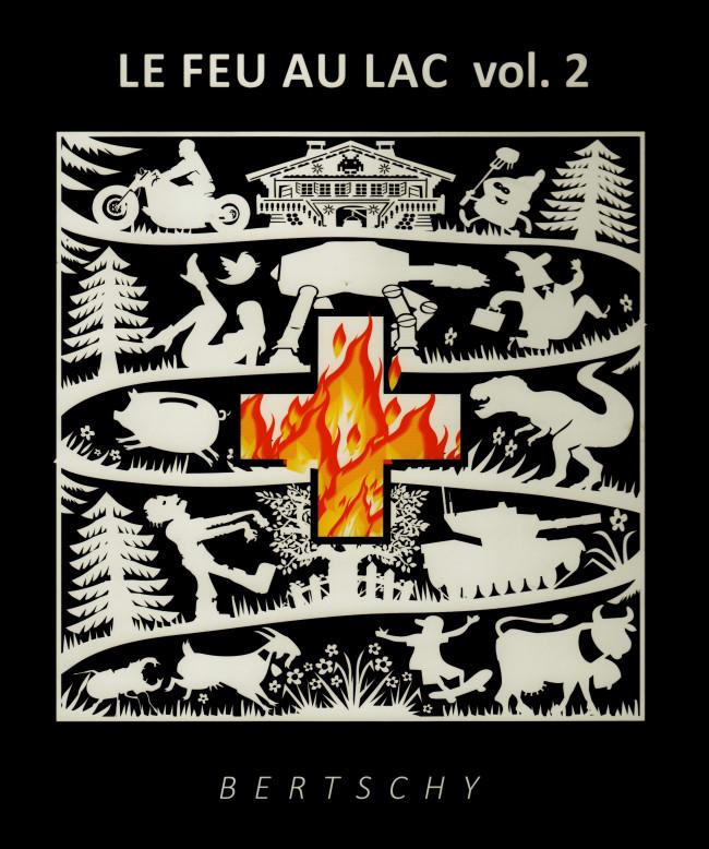 Couverture de Le feu au lac - Tome 2