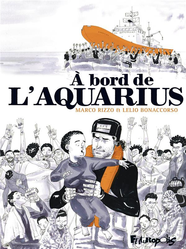 Couverture de À bord de l'Aquarius
