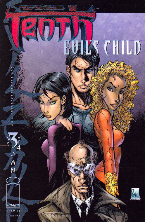 Couverture de Tenth (The): Evil's Child (1999) -3- Issue 3 of 4