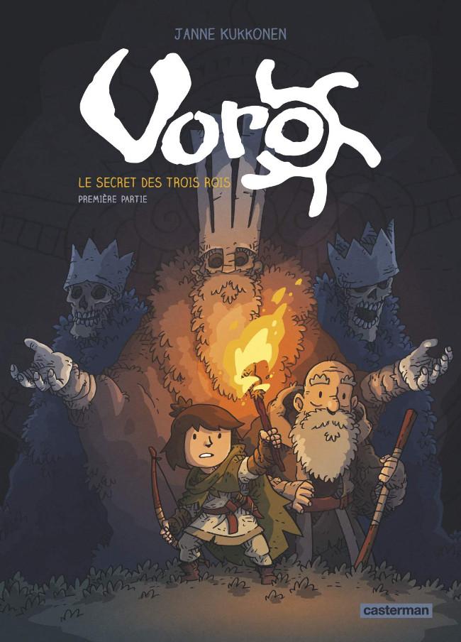 Couverture de Voro -1- Le secret des trois rois - première partie