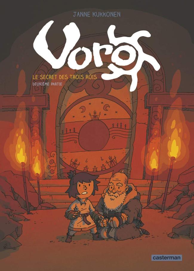 Couverture de Voro -2- Le secret des trois rois - deuxième partie