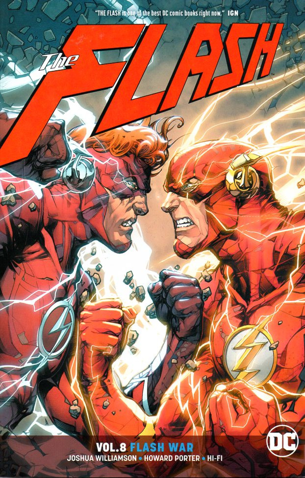 Couverture de Flash (The) (2016) -INT08- Flash war