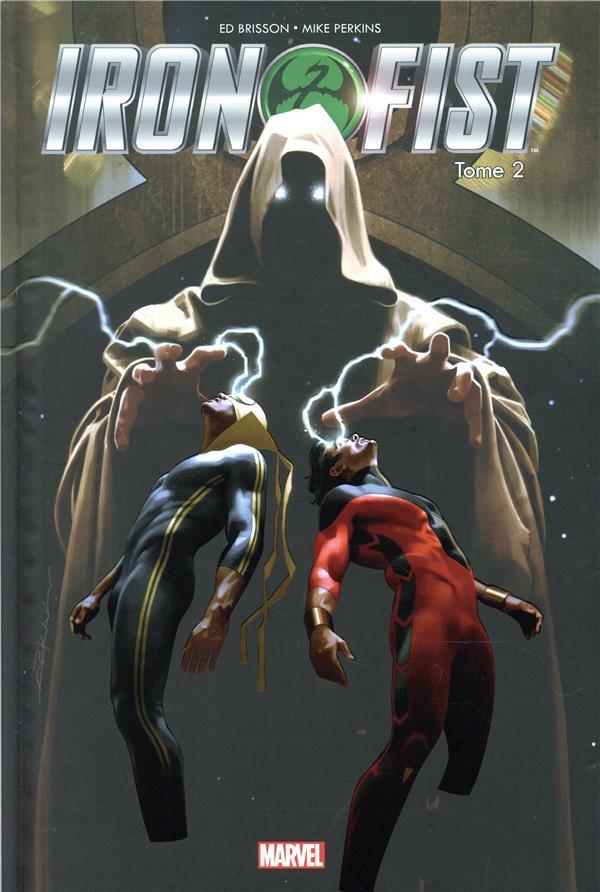 Couverture de Iron Fist (100% Marvel - 2018) -2- Tigres et serpents