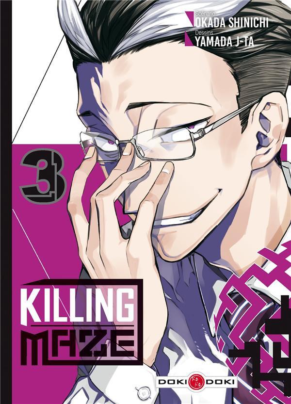 Couverture de Killing Maze -3- Tome 3