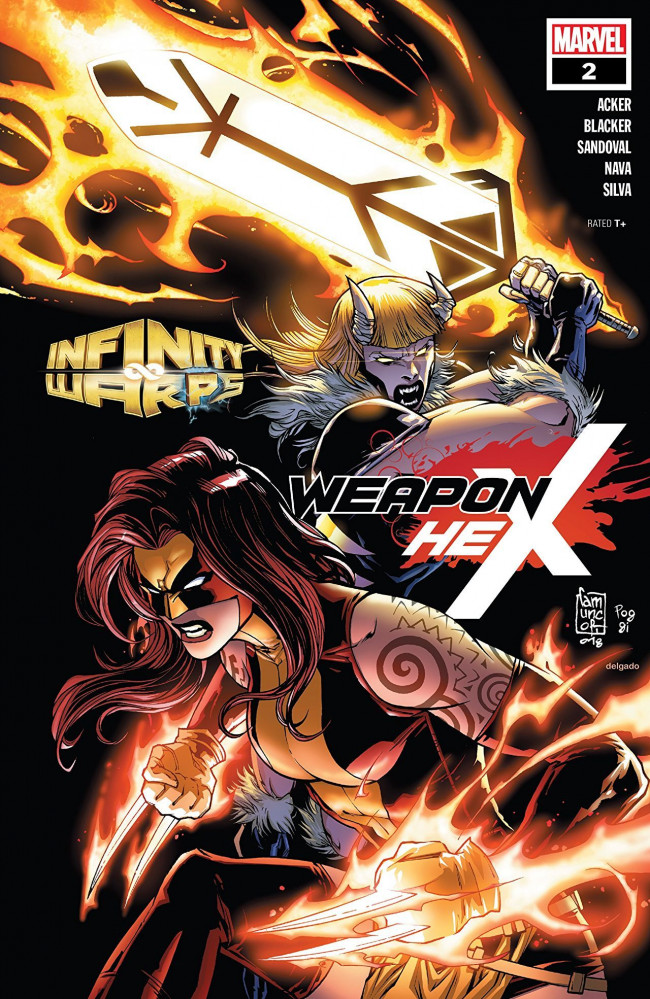 Couverture de Infinity Wars: Weapon Hex (2018) -2- Issue #2