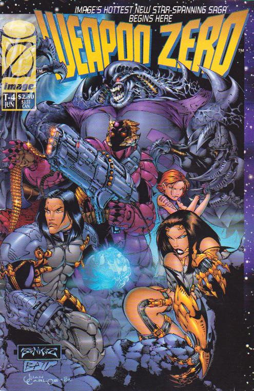 Couverture de Weapon Zero (1995) --4- Prologue
