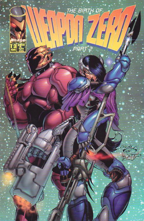 Couverture de Weapon Zero (1995) --3- Prologue 2