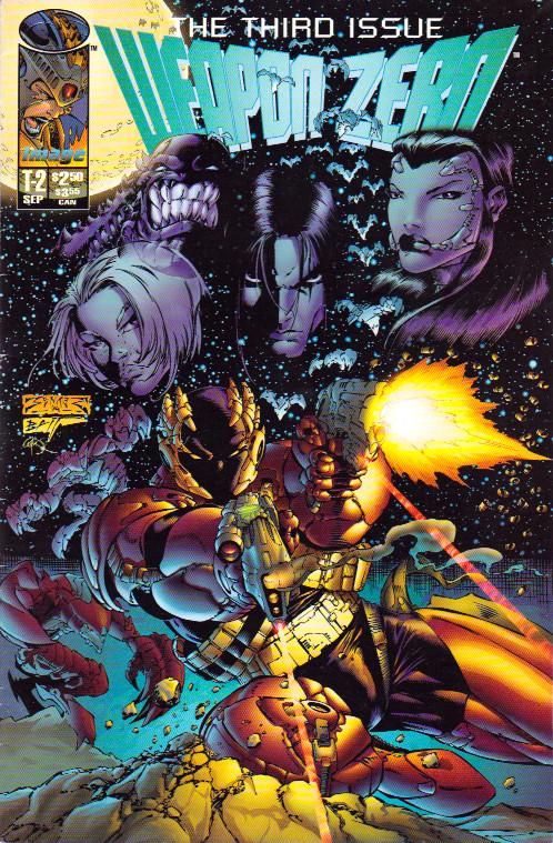 Couverture de Weapon Zero (1995) --2- Prologue 3