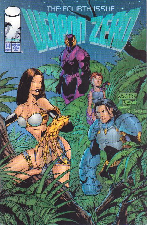Couverture de Weapon Zero (1995) --1- Prologue 4