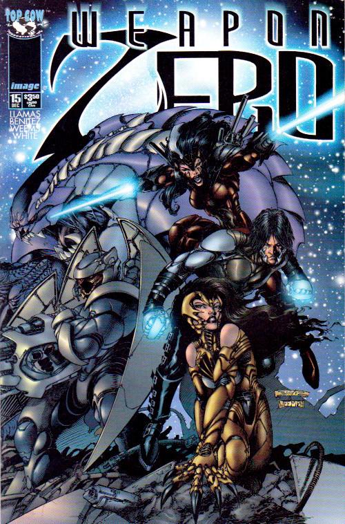 Couverture de Weapon Zero (1996) -15- fifteen