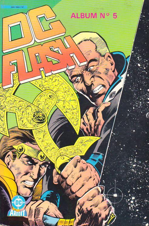 Couverture de DC Flash -Rec05- Album N°5 (du n°9 au n°10)