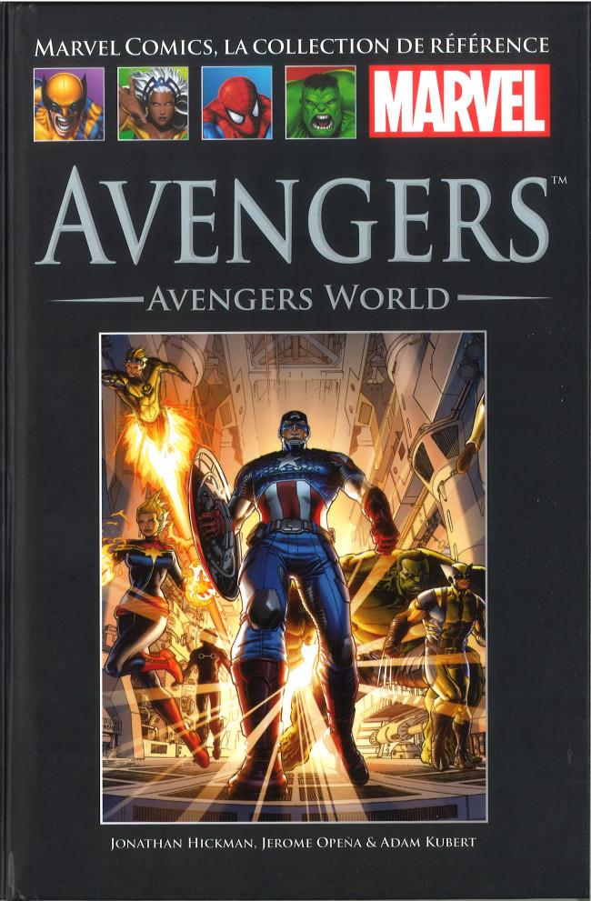 Couverture de Marvel Comics - La collection (Hachette) -12589- Avengers - Avengers World
