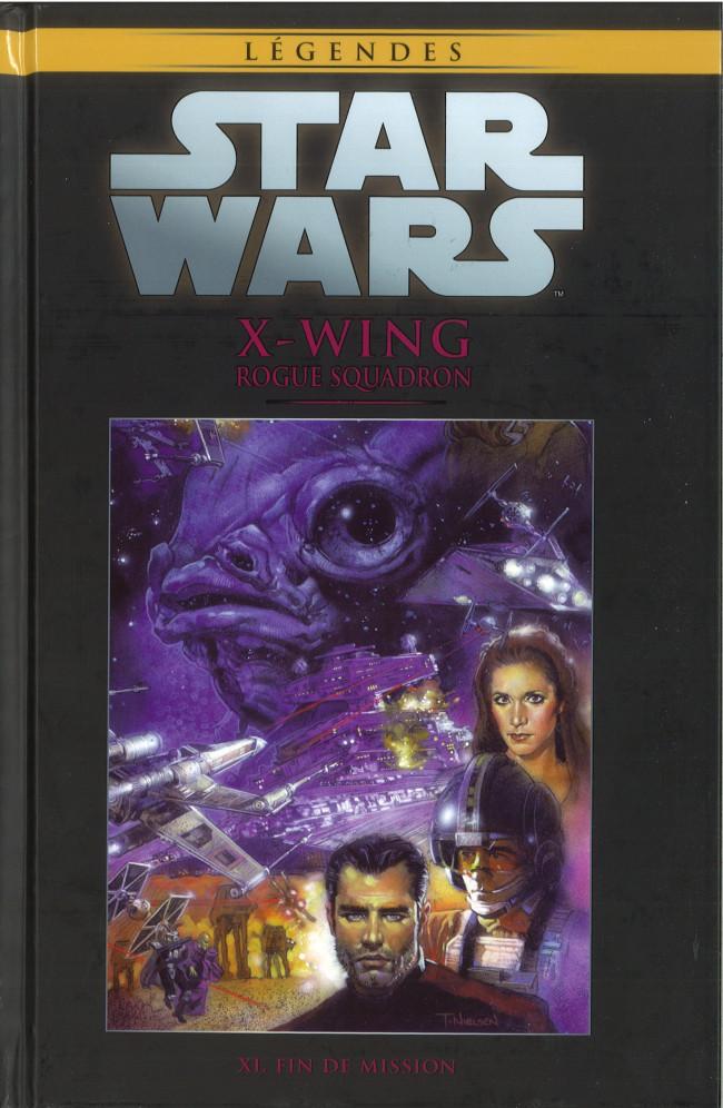 Couverture de Star Wars - Légendes - La Collection (Hachette) -8172- X-Wing - XI. Fin de Mission