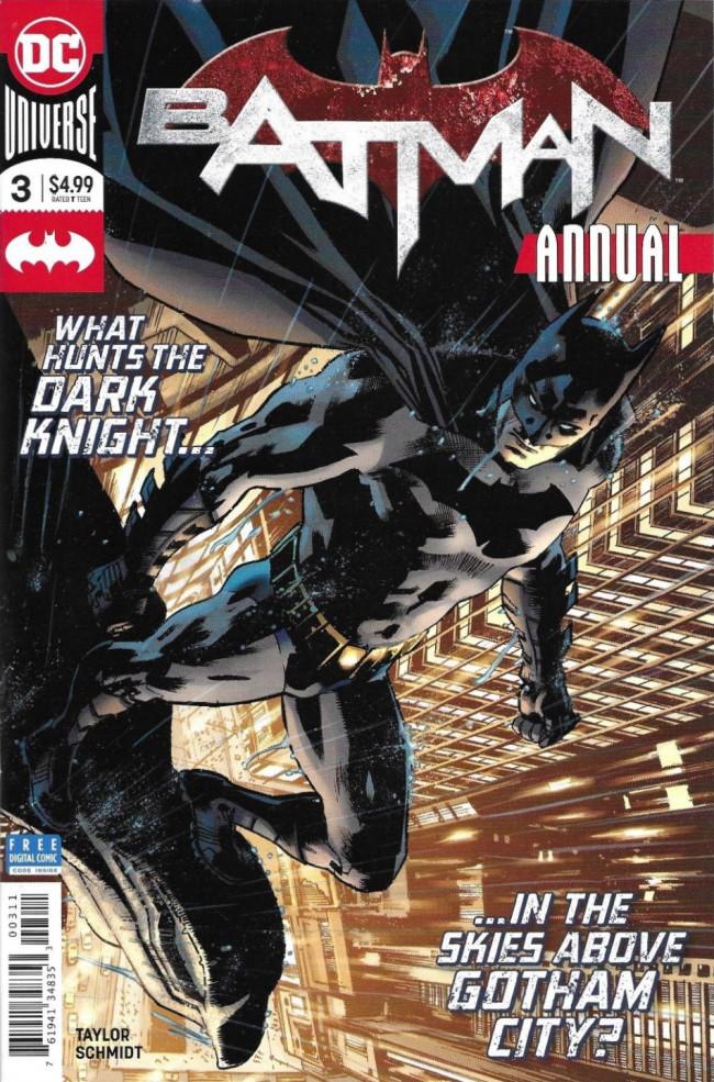 Couverture de Batman (2016) -AN03- Father's Day