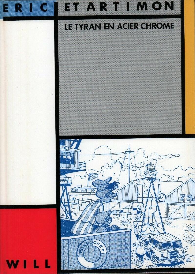 Couverture de Éric et Artimon -2- Le tyran en acier chromé