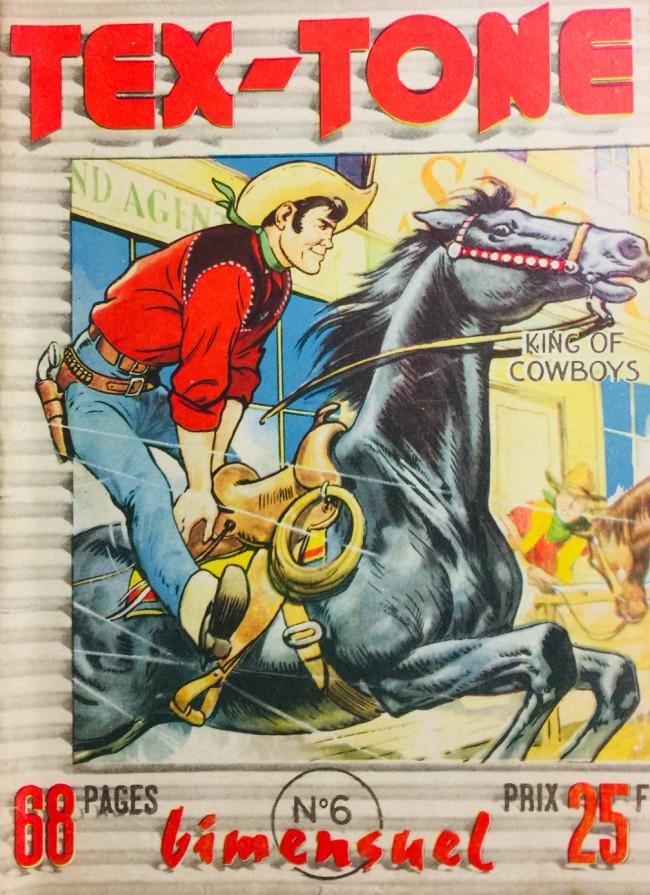 Couverture de Tex-Tone -6- Echec aux kidnappers!