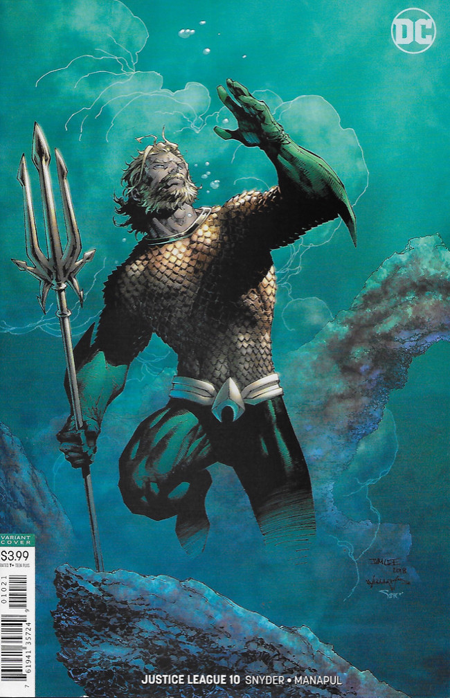 Couverture de Justice League (2018) -10B- Drowned Earth-Prelude