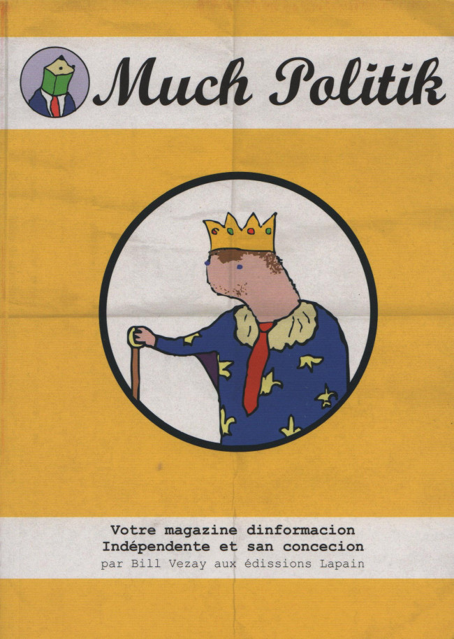 Couverture de Much Politik -3- Tome 3