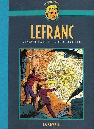 Couverture de Lefranc - La Collection (Hachette) -9- La crypte