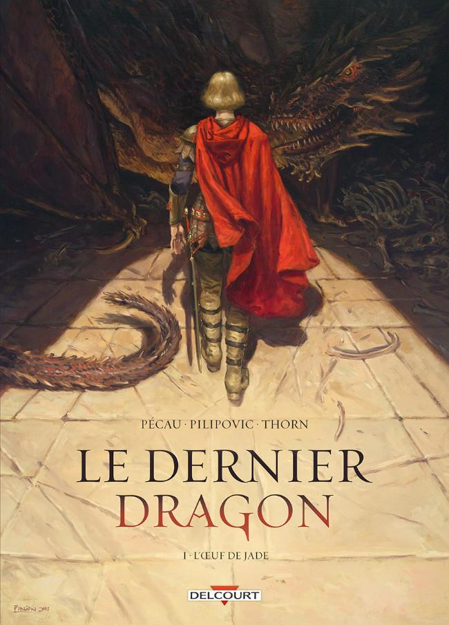 Couverture de Le dernier dragon -1- L'Œuf de Jade
