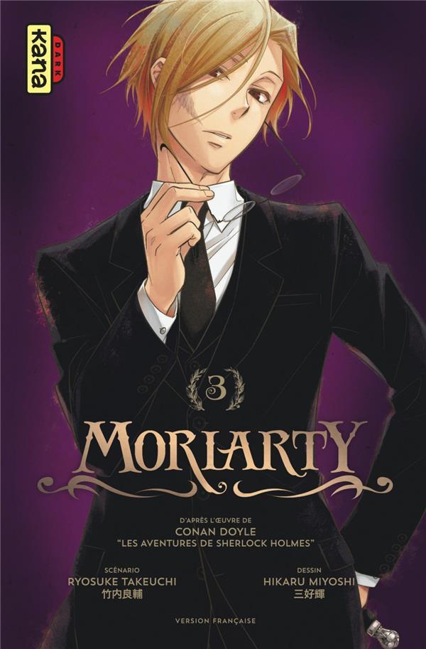 Couverture de Moriarty (Miyoshi) -3- Tome 3