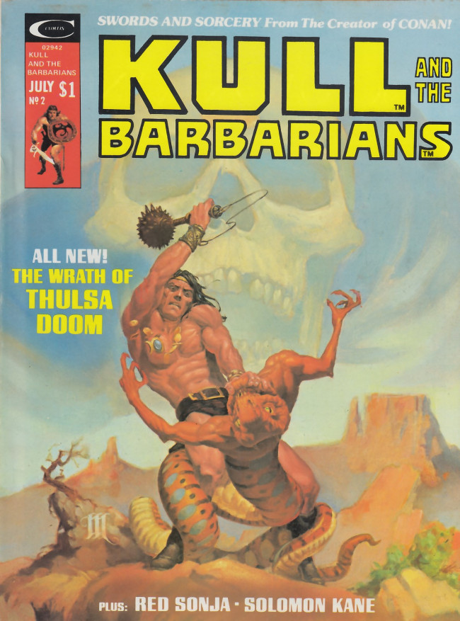 Couverture de Kull and the Barbarians (1975) -2- Kull and the Barbarians #2