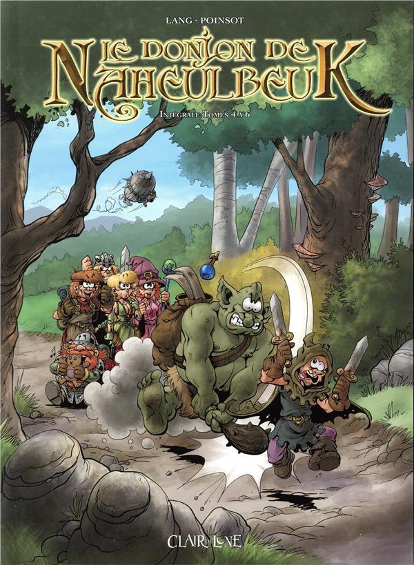 Couverture de Le donjon de Naheulbeuk -INT02- Intégrale Tomes 4 à 6