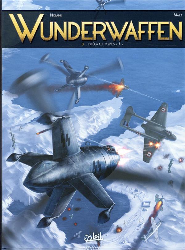 Couverture de Wunderwaffen -INT03- Intégrale Tomes 7 à 9